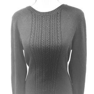 BCBG sweater black